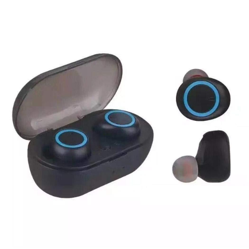 Miseku Wireless Earbubds,Wireless Bluetooth Earbuds in-Ear Stereo Noise Reduction Dual Earphone