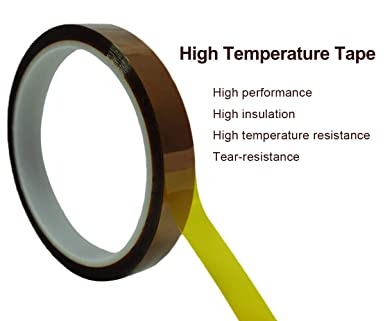 33m Length Professional Cell Phone Accessory Kits Professional 10mm High Temperature Resistant Clear Heat Dedicated Polyimide Tape with Silicone Adhesive SKU : S-ETP-2320B