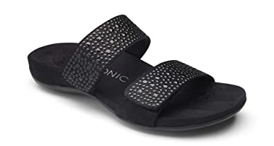 9b92747cbae Amazon.com  Vionic Women s Rest Samoa Slide Sandal  Shoes