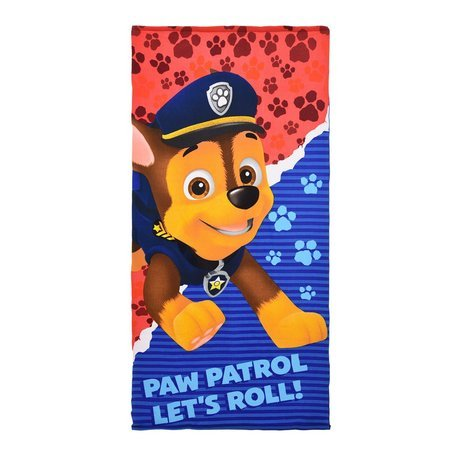 Paw Patrol Kids 100% Microfiber 27 by 55 inch Bath Towel (RED)