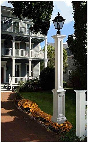 Mayne 5835-BK Signature Lamp Post with 89-Inch Aluminum Ground Mount by Mayne (Image #3)