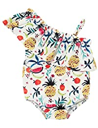 SUPEYA Infant Baby Girls Pineapple Swimsuit One Piece Bathing Suit Swimming Wear