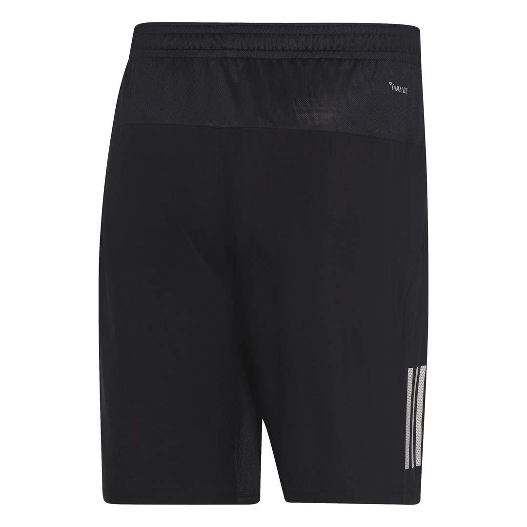 adidas Men's Club 3-Stripes 9-Inch Tennis Shorts, Black/White, X-Small by adidas (Image #2)