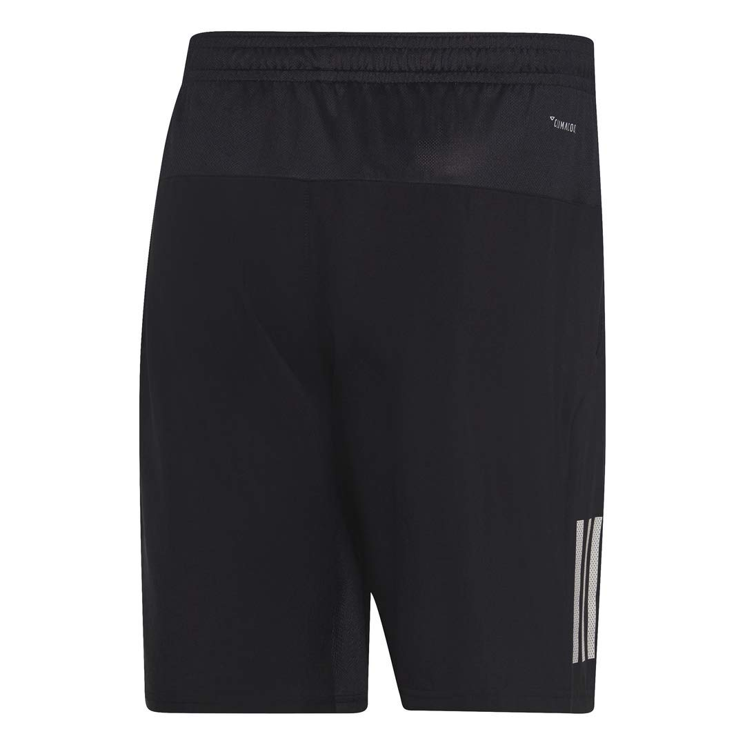 adidas Men's Club 3-Stripes 9-Inch Tennis Shorts, Black/White, XX-Large by adidas (Image #2)