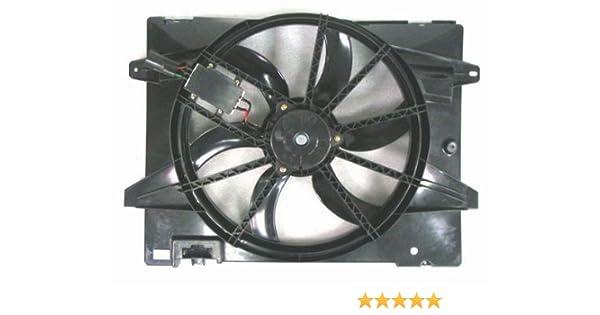 Depo 330-55008-000 Dual Fan Assembly