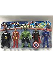 super character avenger and Hulk and Bat man and spider