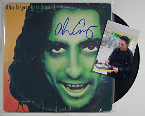 Alice Cooper Signed Autographed