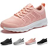 CAMEL CROWN Womens Fashion Sneakers Lightweight Casual Athletic Running Walking Sports Shoes Pink Size 7
