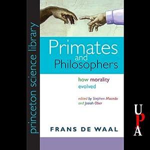 Primates and Philosophers Audiobook