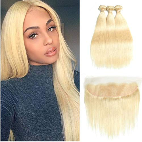 Top recommendation for brazilian hair bundles with frontal blonde