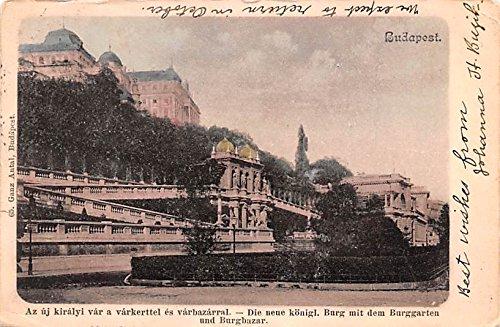 Die neue konigl Budapest Republic of Hungary Postcard