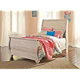 Signature Design by Ashley B267-92 Sleigh Bed Rails, Full