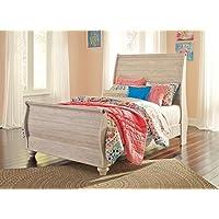 Signature Design by Ashley B267-92 Sleigh Bed Rails, Full