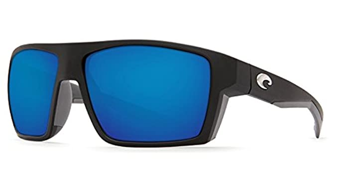 c3dbcdef348 Costa Bloke Sunglasses Matte Black   Blue Mirror 580G   Cleaning Kit Bundle