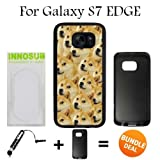 Mr Doge MEME Custom Galaxy S7 EDGE Cases-Black-Rubber,Bundle 2in1 Comes with Custom Case/Universal Stylus Pen by innosub