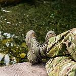 FREE SOLDIER Bottes de Chasse pour Hommes Bottes Militaires de Haut-Niveau Bottes Tactiques de Combat Chaussures à… 10