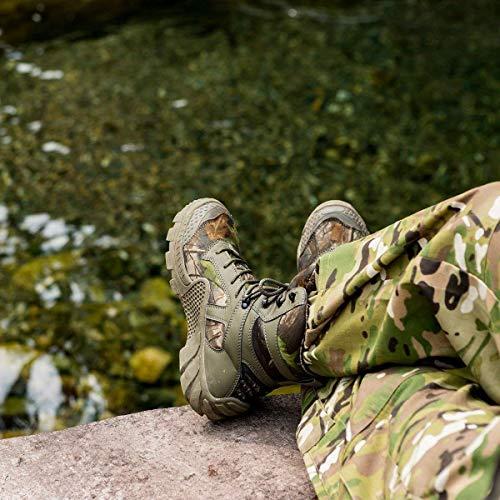FREE SOLDIER Bottes de Chasse pour Hommes Bottes Militaires de Haut-Niveau Bottes Tactiques de Combat Chaussures à… 4