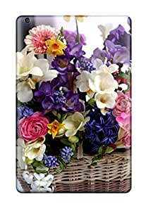 Case Cover Floral Basket/ Fashionable Case For Ipad Mini/mini 2 by lolosakes