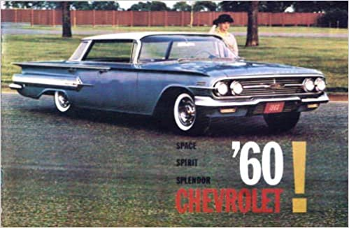 1960 Chevrolet Dealership Sales Brochure For Imala Sport Coupe Bel