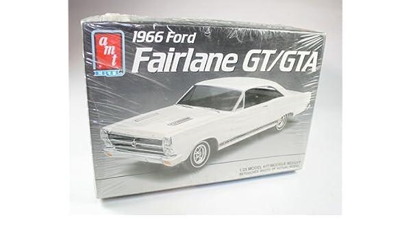 Amazon com: 1966 Ford Fairlane GT/GTA AMT Ertl 1/25 Model