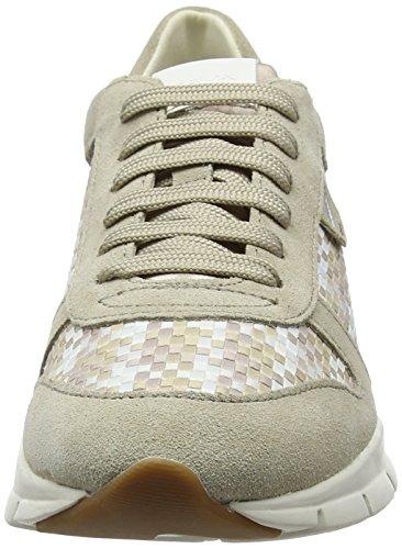 Geox Damen D Sukie A Sneaker Beige (lt Taupe / Sabbia)