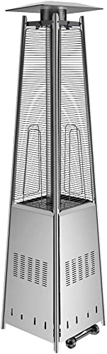 Anbull 48000 BTU Outdoor Pyramid Patio Heater