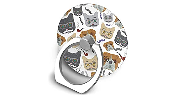 Amazon.com: XIAoZ Cat and Dog Finger Ring Holder, Universal Cell Phone Ring Grip Stand Support for iPhone Android Phone: Home & Kitchen
