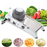 Mandoline Slicer Manual Vegetable Cutter with Stainless Steel...