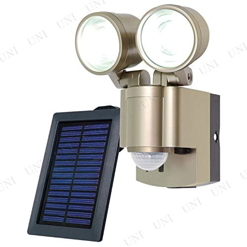 ELPA(エルパ)『ソーラー 3W LEDセンサーライト 2灯(ESL-302SL)』