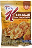 Kellogg's Special K Cracker Chips Cheddar, 0.87 Ounce (Pack of 36)