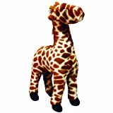VIP Products Mighty Gina Giraffe Safari Dog Toy, Orange and White, My Pet Supplies