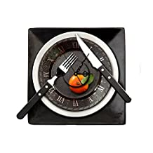[Free Shipping] PAG STICKER 3D Wall Clock Decals Tableware Wall Sticker Restaurant Home Wall Decor Gift // Autocollant pag 3d horloge murale Stickers muraux vaisselle restaurant autocollant mur de la maison cadeau de décoration