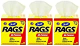 Kimberly-Clark Scott 75260 Rags in a Box, White (3 Cases of 200 Towels)