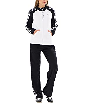 adidas Young Knit – Chándal Infantil Color Blanco y Negro, Blanco ...