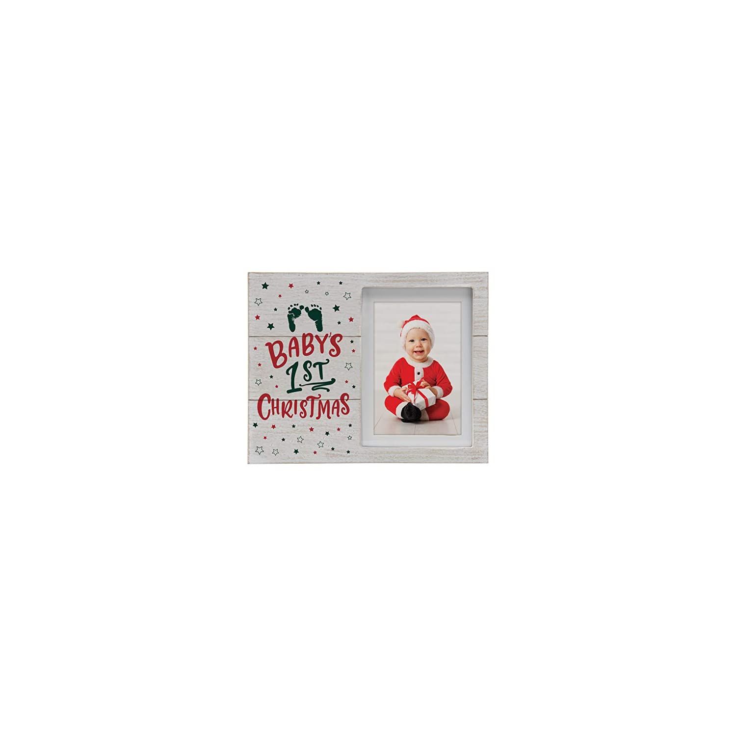 Fine Photo Gifts Baby's 1st Christmas Wood Picture Frame