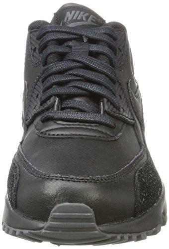Bambino black Gs Grey Nero dk Scarpe black 90 Lth Max Da Ginnastica Nike Air 8Cwq4Cxg