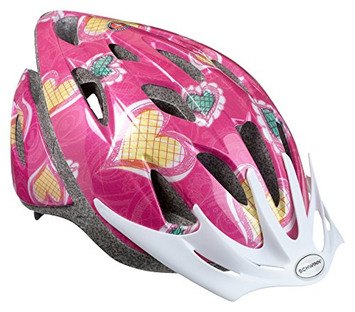 Schwinn Thrasher Lightweight Microshell Bicycle Helmet Featuring 360 Degree Comfort System with Dial-Fit Adjustment, Child, ()