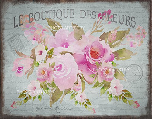 Shabby French Floral Art - 11