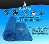 Shantihi Yoga Mat - Thick Eco Friendly Premium