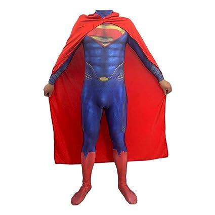 Cosplay Ropa DC Justice League Superman Anime Disfraz Cuerpo ...