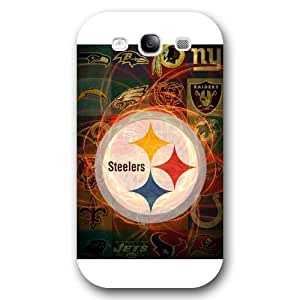 Customized NFL Series For Ipod Touch 5 Case Cover NFL Team Pittsburgh Steelers Logo For Ipod Touch 5 Case Cover Only Fit for For Ipod Touch 5 Case Cover (White Frosted Shell)