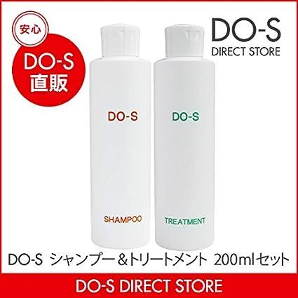 DO-S シャンプー&トリートメント 200ml ネット用