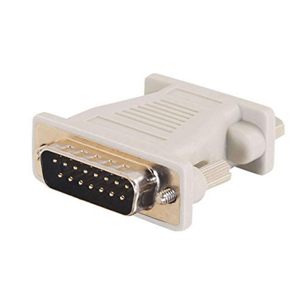 C2G 02902 Mac DB15 Male to VGA (HD15) Female Adapter, Beige