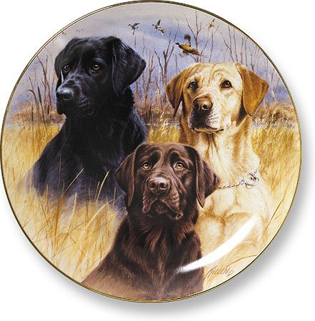 Character Plate Collector (Great Hunting Dog II Collector Plate by Jim Killen)