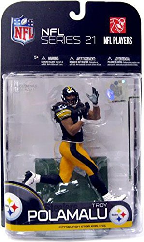 Mcfarlane Toys Nfl Sports Picks Series 21 Troy Polamalu by McFarlane