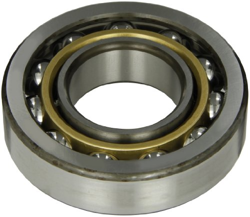 SKF 7310 BECBM Medium Series Angular Contact Bearing, ABEC 1 Precision, 40° Contact Angle, Open, Brass Cage, Normal Clearance, 50mm Bore, 110mm OD, 27mm Width, 11500lbf Static Load Capacity, 16700lbf Dynamic Load Capacity (Bearing Contact Angular Becbm)
