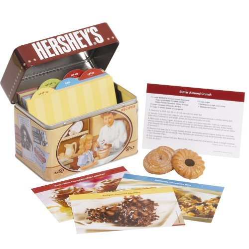 Hershey's: Recipe Card Collection with Tin