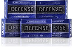 Defense Soap 4 Ounce Bar (Pack of 5)