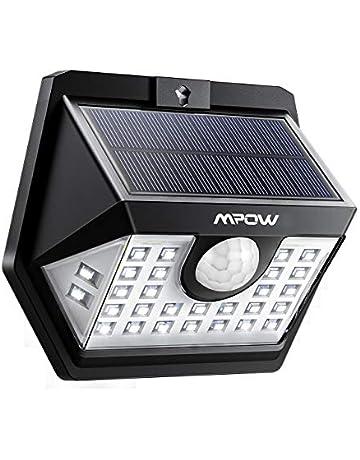 3 Modes Intelligents  Lot de 2 Mpow 30 LED Lampes Solaires Extérieur  Etanche IP65 7a3dcf0d4c3