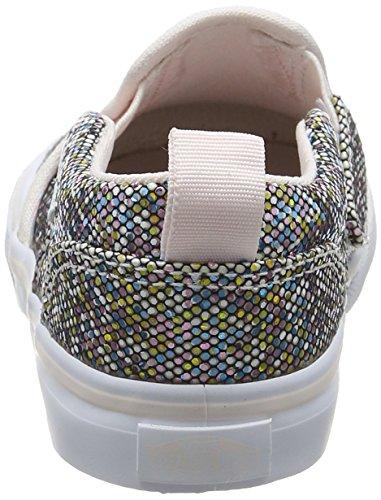Vans Td Asher V Z, Botines de Senderismo para Bebés Multicolor (Glitter)